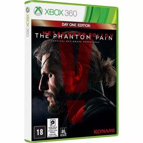 Metal Gear Solid V Phantom Pain Xbox 360 M Fisica Lacrado