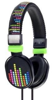 Audifonos Diadema P/niño Popper Levels Negro Moki Acc Hppoe