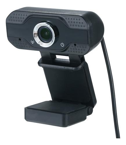 Usb Webcam 1080p Hd 30fps Área De Trabalho Clip-on Pc Câme