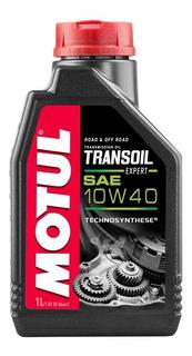 Aceite Motul Transoil Expert 10w40 1l Caja 2t Solomototeam
