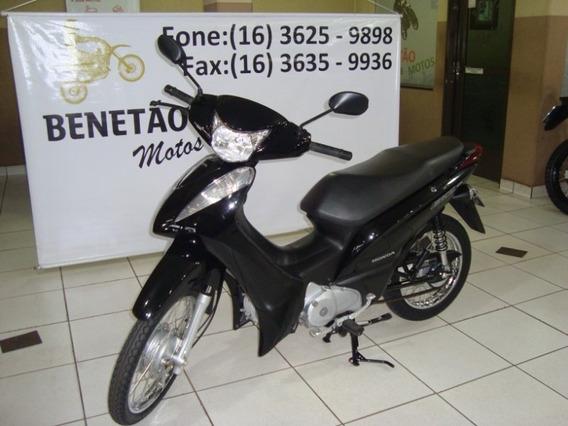 Honda Biz 125 Es Preto 2013