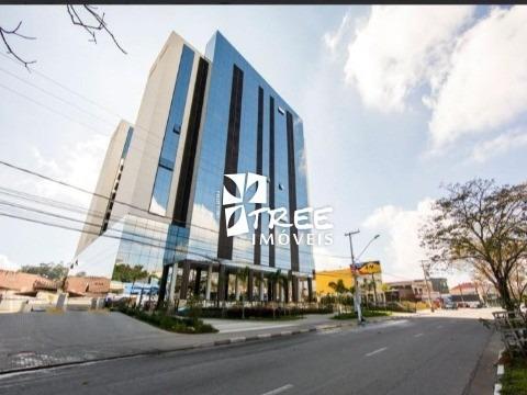 Locação (pacote) Salão Comercial Com Aproximadamente Com 450m² No Térreo, Prédio Novo Excelente Localização, Vaga De Garagem, Prédio De Alto Padrão, S - Sl00111 - 34306159