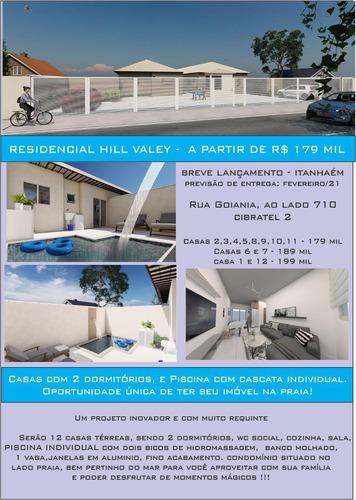 Imagem 1 de 14 de Ref-902 Casas Em Condomínio Em Itanhaem Res.hill Valey