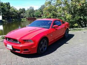 Ford Mustang 5.0l Gt Vip Equipado Piel At 2013
