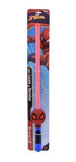 Spiderman Espada Con Luz Y Sonido Hombre Araña Marvel Ditoys