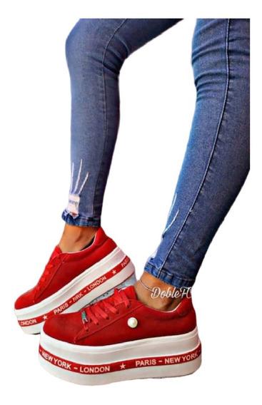 Zapatillas Balenciagas Urbanas New York Plataforma Mujer