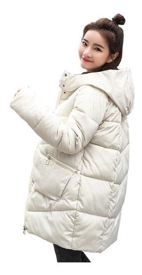Chamarra De Mujer Moda Abrigo Chaqueta De Algodón Grueso Bla