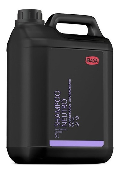 Shampoo Neutro 5 Litros Ibasa Concentrado Val:02/2021