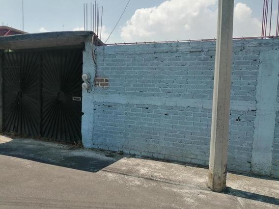 Terreno En Calle Cerrada. Atrás Paseo Xochimilco