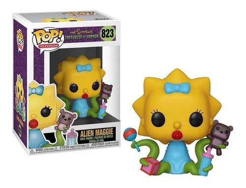 Funko Pop Tv - Simpsons Alien Maggie Casita Del Horror #823