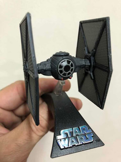 Star Wars Hot Wheels Die Cast First Order Tie Fighter Metal