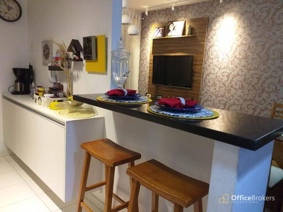 Apartamento Com 2 Dormitórios À Venda, 72 M² Por R$ 300.000,00 - Jardim Tupanci - Barueri/sp - Ap0612
