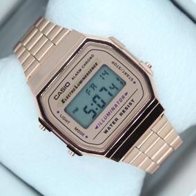 e6887f69c5e9 Reloj Casio Golden Rose   Rosa Cobre Retro Vintage Clasico