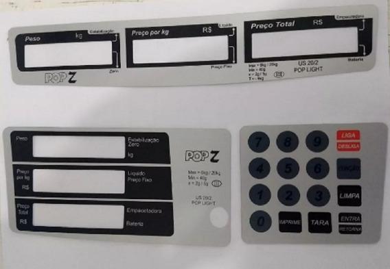 Capa Do Teclado E Painel Urano Pop Z 20kg - Kit C/ 3 Peças
