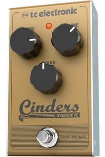 Pedal Tc Electronic Cinders Overdrive Tipo Valvular Cuotas