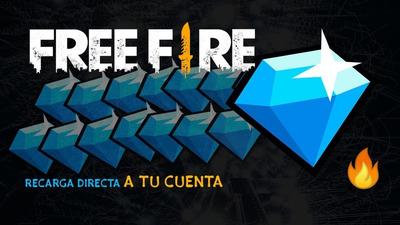 Venta De Diamantes Para Free Fire Por Método De Id