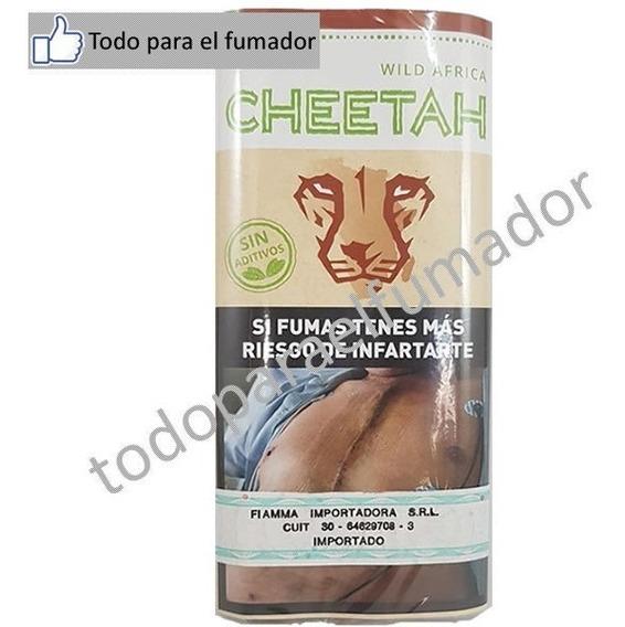 Tabaco Cheetah Africa Natural (suave) 30 Gr. Y + Variedades