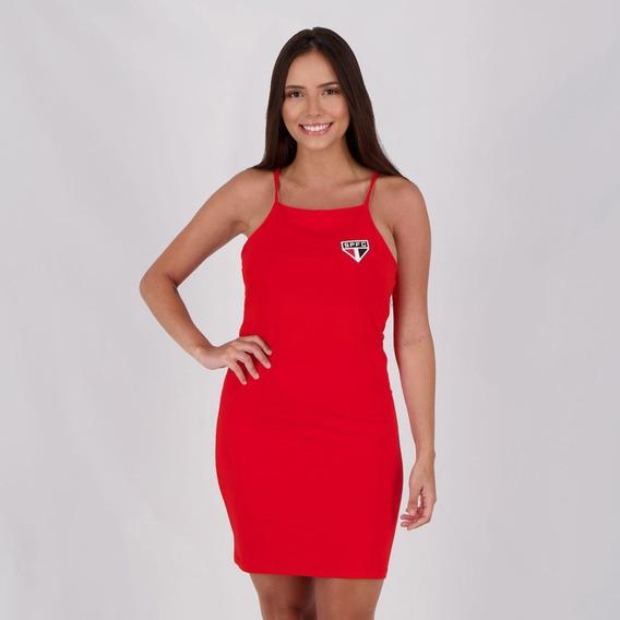 Vestido São Paulo Vermelho