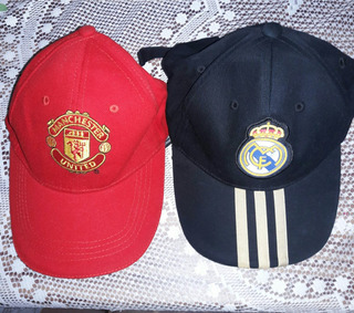 Gorras Real Madrid - Manchester United Originales