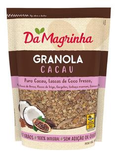 Granola Cacau 7 Graos 850g - Da Magrinha