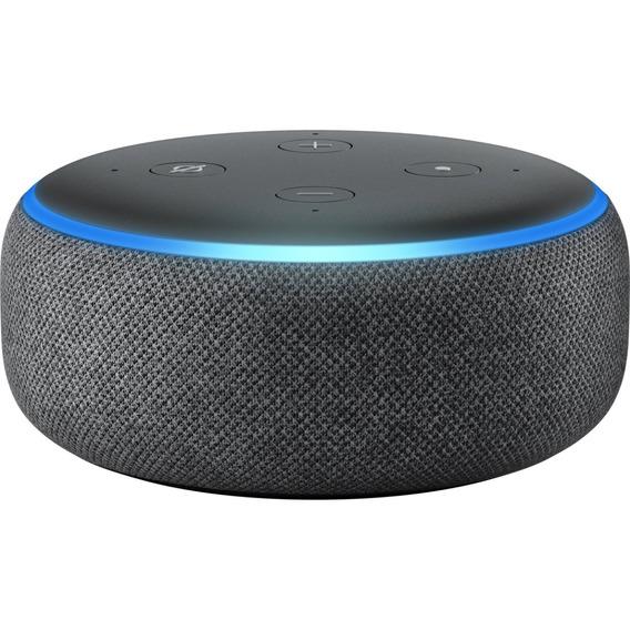 Amazon Echo Dot - 3a Terceira Geração - Alexa - Preto