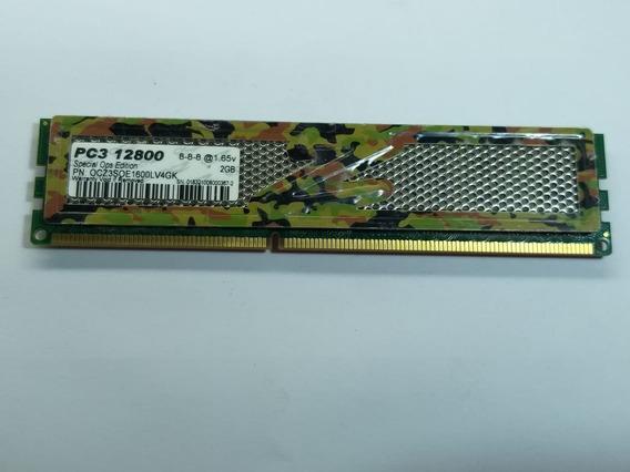 Memoria Ocz Pc3 12800 Special Ops Edition 2gb, Ddr3