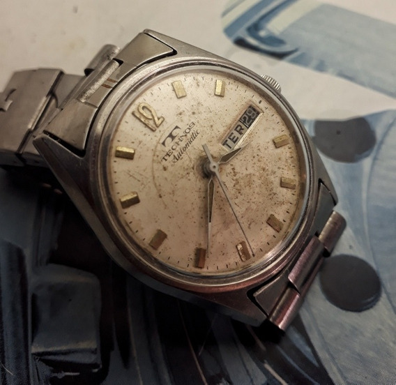 Relógio Technos Automático Vintage