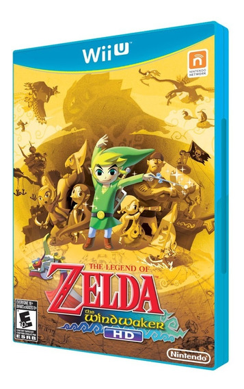 Zelda The Wind Waker Hd Wii U - Jogo Novo Original Lacrado