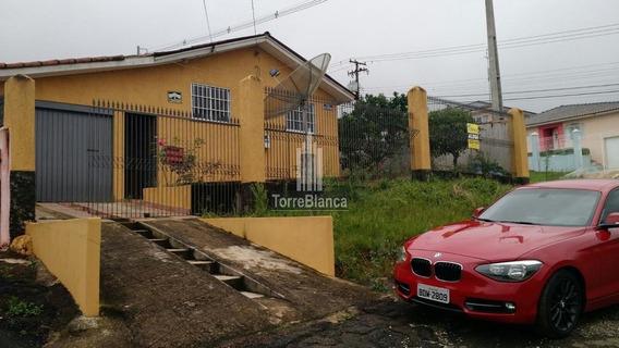 Casa Com 3 Dormitórios À Venda, 95 M² Por R$ 250 - Chapada - Ponta Grossa/pr - Ca0209