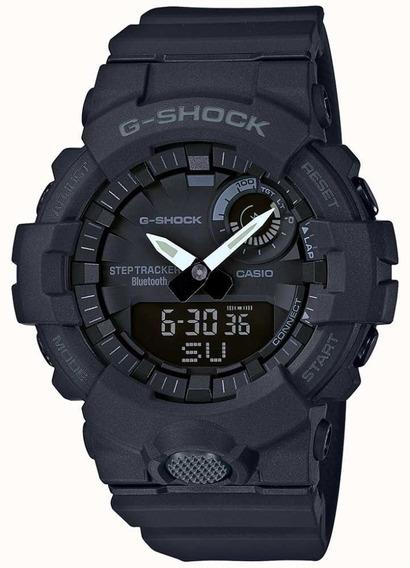Relógio Casio G-shock G-squad Gba-800-1adr Passos Bluetooth