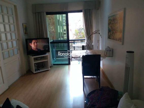 Flat Com 1 Dorm, Moema, São Paulo - R$ 650 Mil, Cod: 1220 - A1220