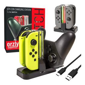 Cargador Multi Nintendo Switch Joy-con Controles Pro Orzly