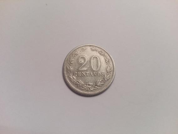 Moneda Argentina 20 Centavos Año 1940