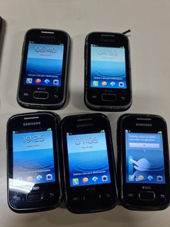 Lote 17 Celular Samsung Galaxy Pocket Plus Duos Gt S5303b