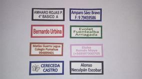 Etiquetas Termoadhesivas Para Marcar Ropa De Colegio Con Tex