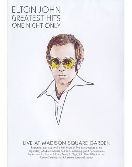 Dvd Elton John - Greatest Hits One Night Only