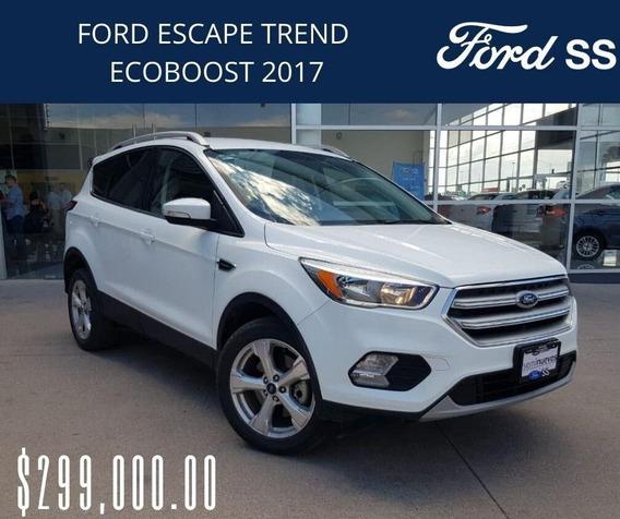 Ford Escape Ecoboost Tren Advance 2017