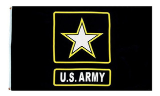 Bandera Us Army 90 X150 Cm Decorativa Coleccion
