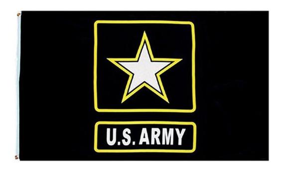 Bandera Us Army 90 X150 Cm Decorativa Coleccion