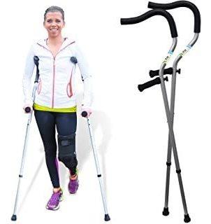 Life Crutch De Millennial Medical, 1 Par De Muletas - Tamañ