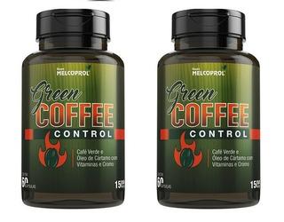 2 Green Coffee ( Café Verde Cártamo Cromo) 60 Cap (120 Caps)