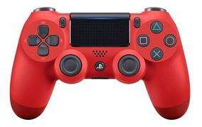 Controle Ps4 Sony Magma Red Nacional Original Dualshock 4