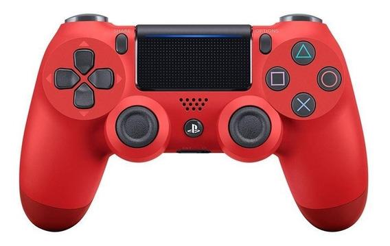 Controle Ps4 Sony Magma Red Vermelho Original Dualshock 4