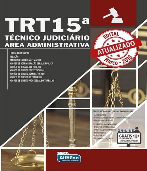 Trt Sp - Tribunal Regional Do Trabalho Da 15 Regiao Sp - Tec