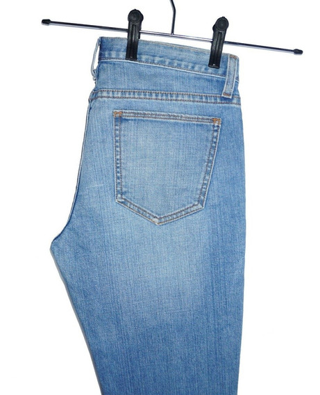 Gap Blue Jeans Straight Leg Calça Jeans Gap