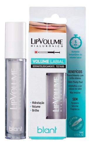 Imagem 1 de 7 de Brilho Labial Hidratante Blant Lip Volume Incolor 4ml