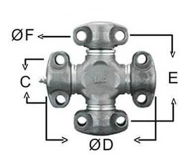 Cruzeta Cardan Komatsu Trator Esteira D50a Cardan Motor