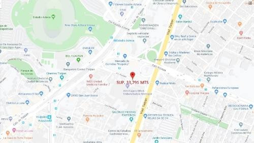 Inmueble Av. Acoxpa Y Viad. Tlalpan, Huipulco Sup. 33,791