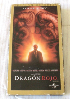 Dragon Rojo Pelicula Vhs 2003 Universal Pictures Mexico