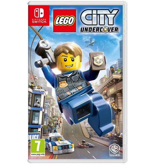 Lego City Undercover - Nintendo Switch - Mídia Física